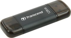 Жесткий диск Transcend JetDrive Go 300 Lightning / USB 3.1 128GB Black (TS128GJDG300K)