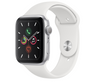 Apple Watch Series 5 44mm Silver Aluminum Case with White Sport Band MWVD2GK/A