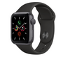 Apple Watch Series 5 40mm Space Gray Aluminum Case with Black Sport Band MWV82GK/A