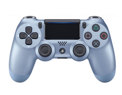 Джойстик DualShock 4 для Sony PS4 (Titanium Blue)