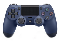 Джойстик DualShock 4 для Sony PS4 (Midnight Blue)