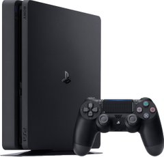 Игровая консоль Sony PlayStation 4, 1TB, Black, Slim