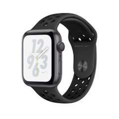 Apple Watch Nike+ Series 4 GPS 44mm Space Gray Aluminum Case with Black Nike Sport Band (MU6L2)