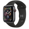 Apple Watch Series 4 GPS + LTE 40mm Space Gray Aluminum Case with Black Sport Band MTVD2/MTUG2